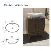 Washtafel MARYLIN 1