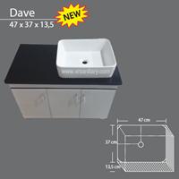 Wastafel DAVE 1