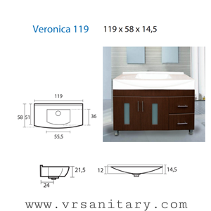 Washtafel Veronika