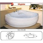 Bathtub corner VIRGINIA (paket whirlpool) 5