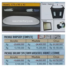 Bathtub Long AUSEL (Paket Whirlpool)