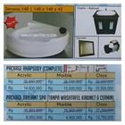Bathtub corner DEVONA 140 (paket whirlpool) 1