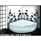 Bathtub corner DEVONA 140 (paket whirlpool) 6