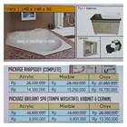 Bathtub corner VILARY (paket whirlpool) 1