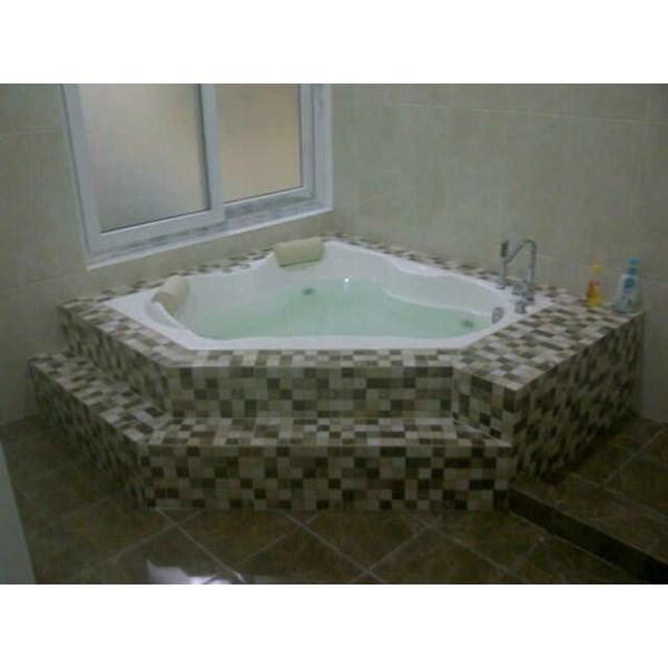 Bathtub corner VILARY (paket whirlpool)