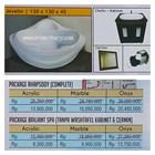 Bathtub corner JEVELIN (paket whirlpool) 1