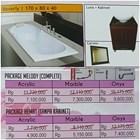 Bathtub Long BEVERLY (Paket Hemat) 1