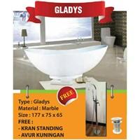 Bathtub Standing GLADYS (Paket Exclusive)