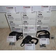 Dynamic Microphone YAESU MH-31A8J ( Microphone Untuk YAESU FT857  FT897 Dan VX1700 )