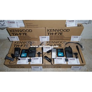 HT ( Handy Talkie ) KENWOOD TH-F7E Dual Band Murah Dan Bergaransi