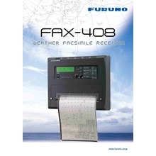Weather Faximile Receiver FURUNO FAX-408