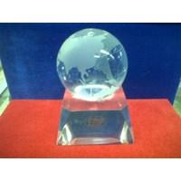 Jual Souvenir Globe Kristal
