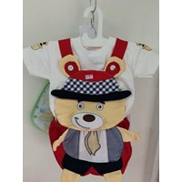 Setelan Baju Anak Teddy Bear 1