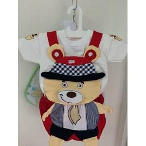 Setelan Baju Anak Teddy Bear