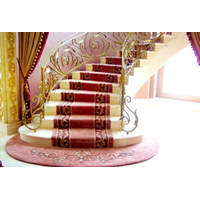 HANDTUFED WOOL CARPET STAIRCASE 1