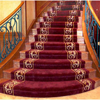 SPORT CLUB SRB HANDTUFED RUGS CARPET STAIRCASE 1