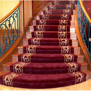 SPORT CLUB SRB HANDTUFED RUGS CARPET STAIRCASE