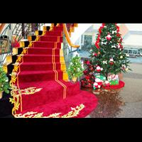 KAPUK JAKARTA UTARA CUSTOM HANDTUFED RUGS CARPET STAIRCASE 1