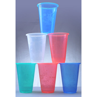Gelas Plastik Warna 1