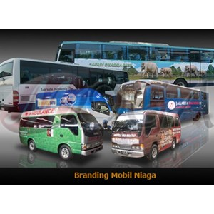 Car Branding Mobil Operasional Dan Shuttle Bus By PT  Moga Advertising