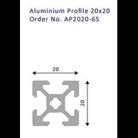 Jual Aluminium Profil 20X20 No.AP2020-6S 2