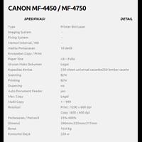 Jual CANON MF-4450 - MF-4750 2