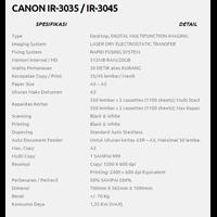 Jual CANON IR 3035 & CANON IR 3045 2