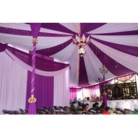 Plafon Balon rumbai tenda pesta