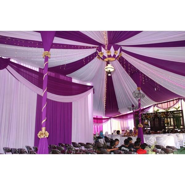 Plafon Balon rumbai tenda pesta