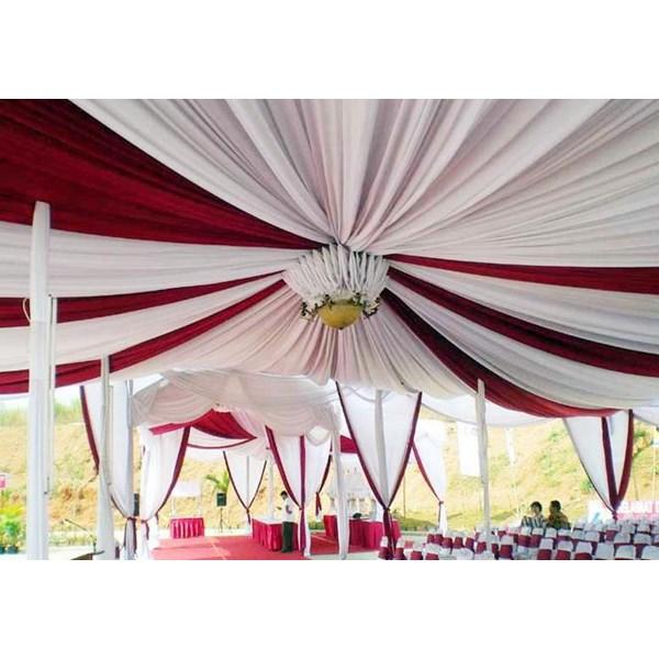 Plafon Balon Dan Rumbai Tenda Pesta