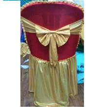 Red Gold Chair Gloves
