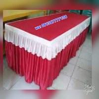 Cover meja prasmanan kotak