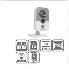 Network Camera WDR IR Cube 2MP DS-2CD2422FWD-IW