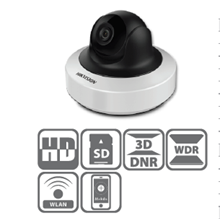 Network Camera IR Mini PT 2MP DS-2CD2F22FWD-I(W)(S)