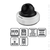 Jual Network Camera IR Mini PT 4MP DS-2CD2F42FWD-I(W)(S)