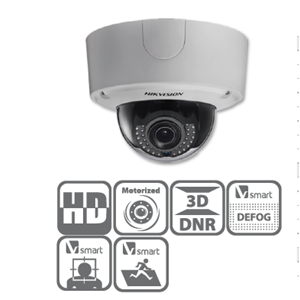Dari Dome Network Camera Hikvision 6MP Darkfighter Series DS-2CD4565F-IZ(H) 0
