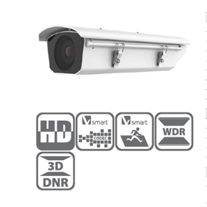 Dari Box Network Camera With Housing Hikvision 2MP Darkfighter Seires DS-2CD4026FWD/E-(H)IR5/IRA 0