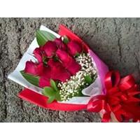 Jual hand bouquet Valentine Day 2