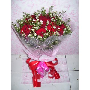 hand bouquet Valentine Day
