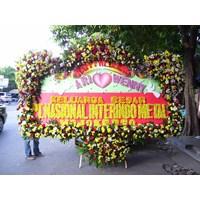 Beli karangan bunga wedding full bunga 4