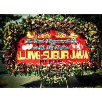 Distributor karangan bunga wedding full bunga 3