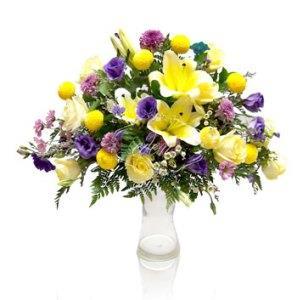 jual standing flower bunga lokal harga murah surabaya oleh