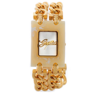 Guess Gold Chain Elegant Ceramics