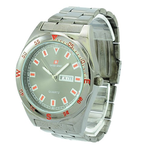 Swiss Army Striped Red Black Chain