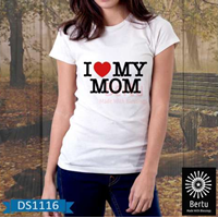T-Shirt I Love Mom 1