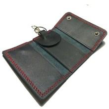 Gantungan Kunci Kulit Dompet untuk STNK