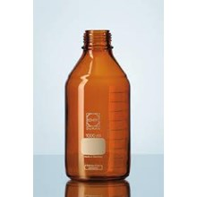 DURAN laboratory bottle amber with DIN thread  GL 45