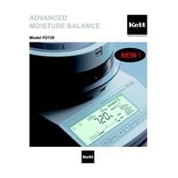 Distributor KETT Infrared Moisture Balance FD-720 3