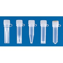 Microcentrifuge tubes PP with screw cap ungraduated