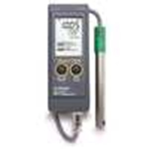 From Hanna Instrument HI 991003 Portable PH PH mV ORP Temperature Meter With Sensor Check 0